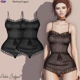 [Eternus] Praline Bodysuit (Black)