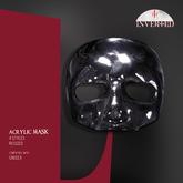+INVERTED+ Acrylic Mask -black-