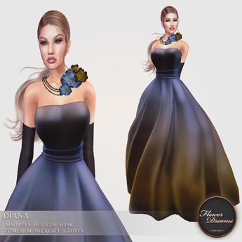 .:FlowerDreams:.Diana - Bronze Wish