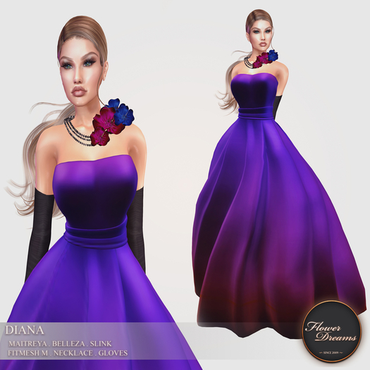 .:FlowerDreams:.Diana - Purple Passion