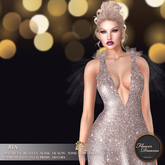 .:FlowerDreams:. Ria Gown - Silver