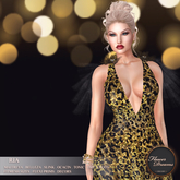 .:FlowerDreams:. Ria Gown - Goldenrod