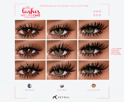 REVOUL - Premiana Eye Candy Collection <3 (add me)