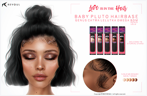 REVOUL - Baby Pluto Hairbase <3 (add me)