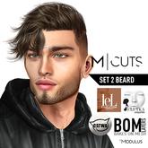 Modulus - Beard Set 2 - Catwa&Lelutka + BOM