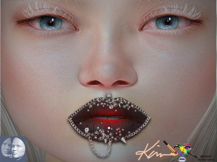 Genus Lips Lipstick Steampunk