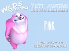 [ WoO ] Yeti Avatar (NON-BENTO)(PINK)(T)