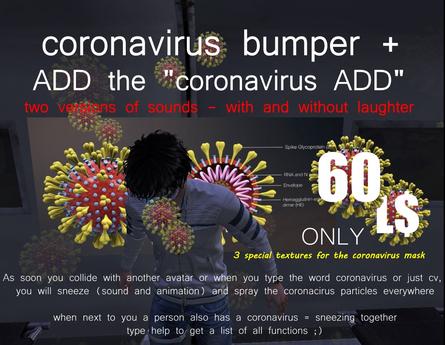 coronavirus bumper +