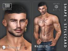 [TOO] Layers - Maurizio Shape for Lelutka Guy - Jake - Gianni - Legacy