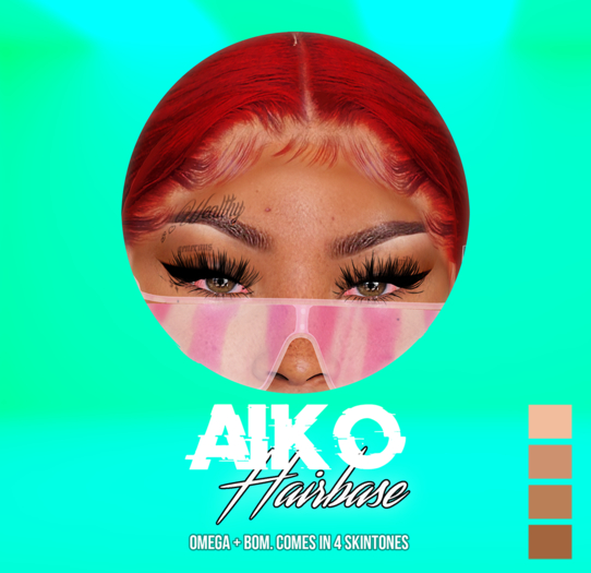 "PTNM - ""Aiko"" Hairbase BOM"