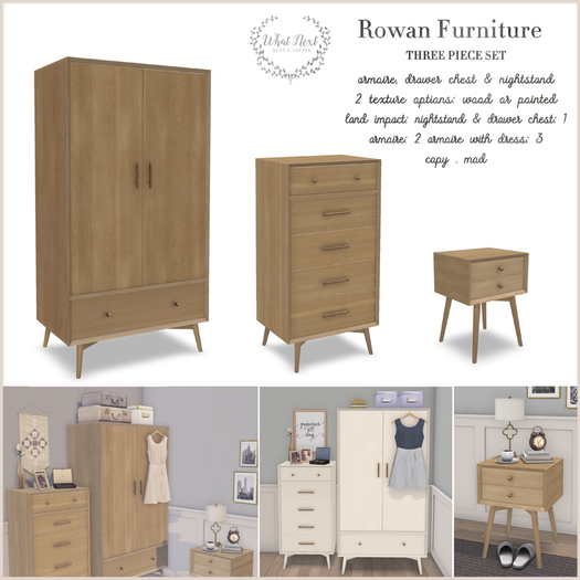 {what next} Rowan Bedroom Furniture