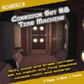 TARDIS Corridor Set #8 - Time Machine