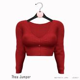 Gaia - Thea Jumper RED
