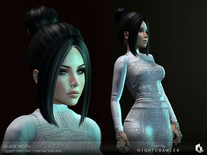 rezology Blade Moth (mesh hair) Gift-NC - 1412 complexity