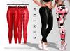 Seniha. Janen Pants // Red