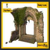 ::DisturbeD:: Ruined Arch FULL PERM MESH