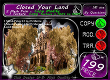 * Closed your Land * Castle Tree Wall V 1 *