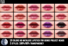 TOP1SALON - HD NATALUXE LIPSTICK (Genus)