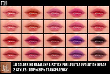 TOP1SALON - HD NATALUXE LIPSTICK (Lelutka Evolution)