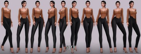 Overlow Poses - Pack 105