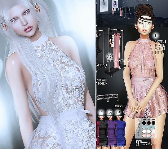 1. Dead Dollz - F/W - FASHION WEEK - Exit#1 Greta Dress - RARE