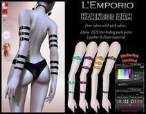 L'Emporio ::*Harness Arm*:: Rigged Mesh-Maitreya/Slink/Belleza/Legacy/TMP