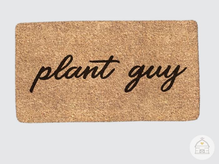 hive // plant guy doormat
