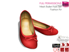 Full Perm Ballerina Flat Shoes For Maitreya Slink Belleza Tonic Classic Avatars