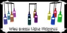 kitsch me - wine-o light fixtures