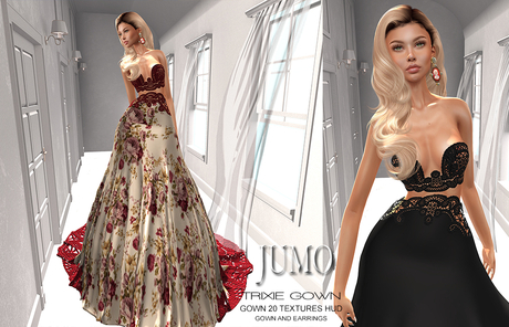 JUMO - Trixie Gown - Maitreya Belleza Slink Legacy Ton - ADD ME