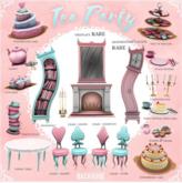 BackBone Tea Party - Strawberry Cake