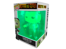 Bang! Figures : Monster Mash #2 - Frankenstein (GITD)