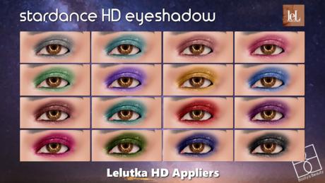 *Booty's Beauty* [Lelutka Evolution] Stardance HD Eyeshadow