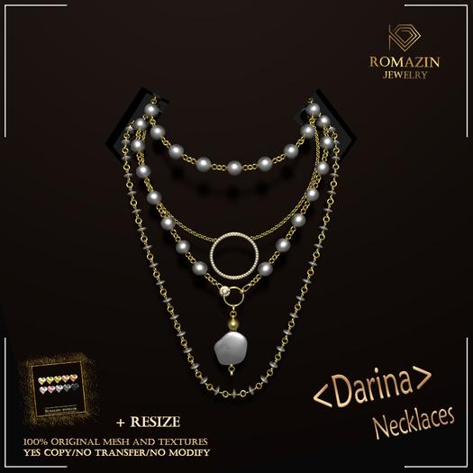 Romazin - Necklaces  <Darina>, resize, color9