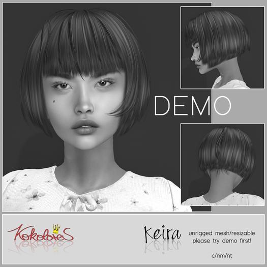 DEMO[KoKoLoReS] Hair Keira {bxd} - wear me!