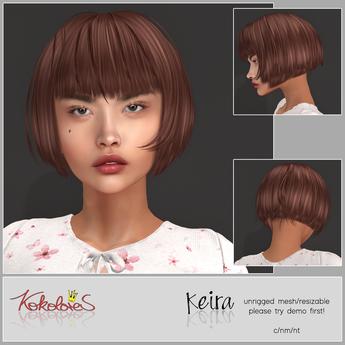 [KKLRS] Hair Keira {bxd.} - wear me!