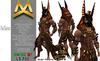 <MK> Anubis Outfit - Belleza