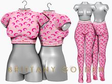Brittany - Marine - Pink