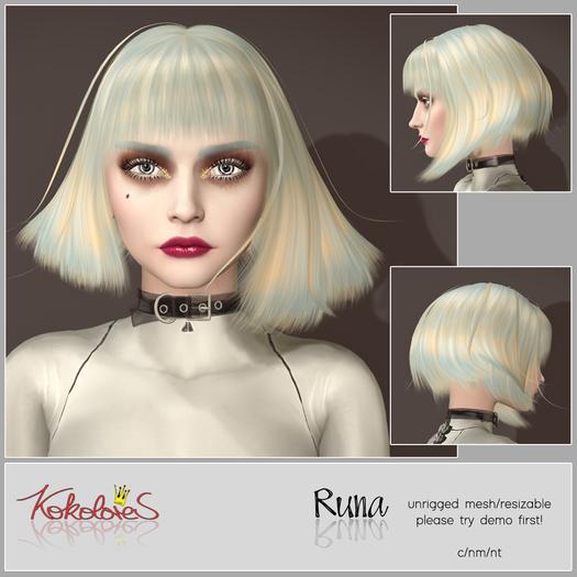 [KoKoLoReS] Hair Runa {bxd} - wear me!
