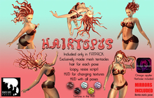 Black Cats poses - Hairtopus FATPACK + mirrors