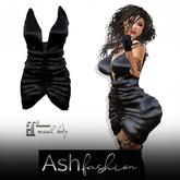 ASH Fashion : kim dress black Gift*free in inworld store