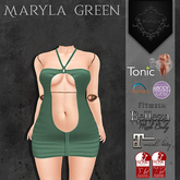 **Mistique** Maryla Green (wear me and click to unpack)