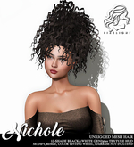 !!Firelight!! Nichole Gen2Plus Black&White
