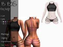 B BOS - Dox Outfit - Black  (Add me)