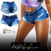 ASH Fashion : denim shorts