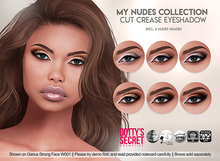 Dotty's Secret - My Nudes - Cut Crease Eyeshadow