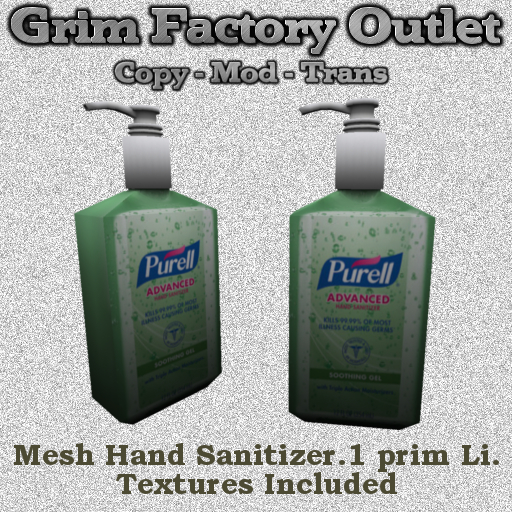 Hand Sanitizer bottle (BOXED)