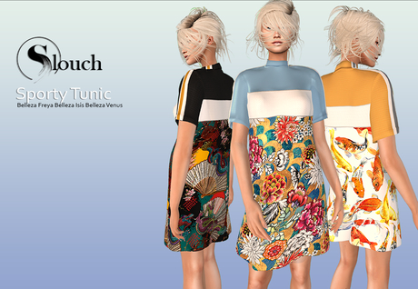 -slouch- Sporty Tunic FATPACK (wear)