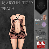 **Mistique** Maryla Tiger Peach (wear me and click to unpack)