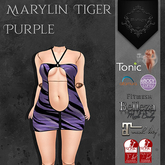 **Mistique** Maryla Tiger Purple(wear me and click to unpack)